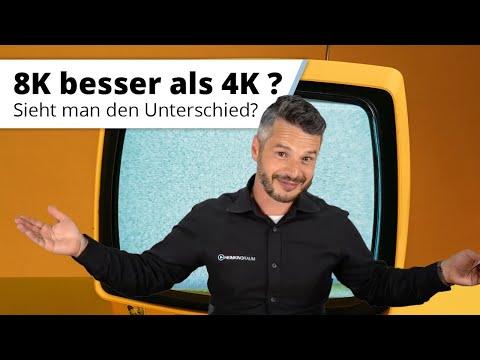 Auflösung am TV oder Beamer: Ist 8K wirklich besser als 4K? Sieht man den Unterschied wirklich?