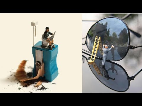 50 Cool Miniature Photography Ideas Mobile Photoshop