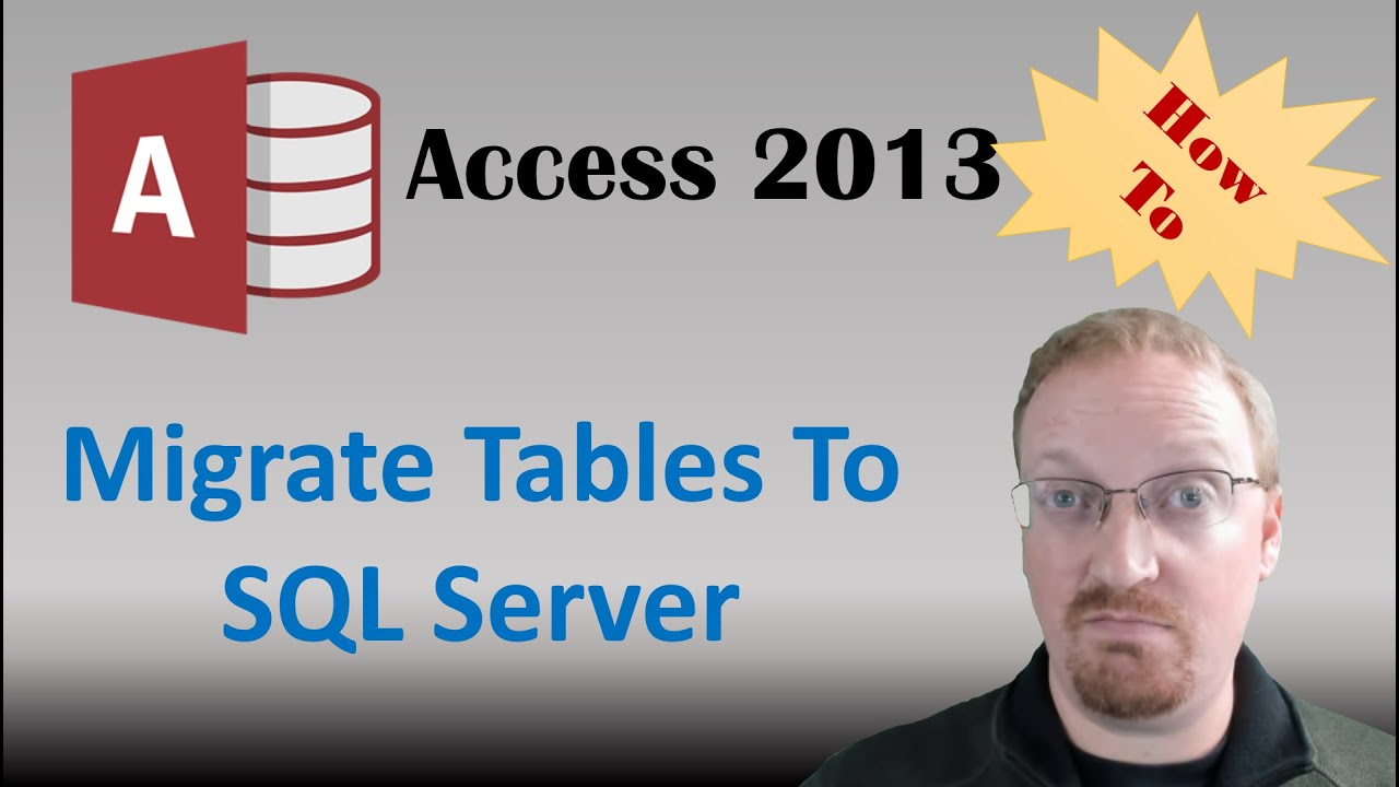 How To Migrate Microsoft Access Tables To SQL Server Using SQL Server  Migration Assistant🎓