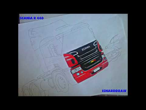 Desenho da Scania P360 6# - By Isnard | Scania P360 design #6 - By Isnard