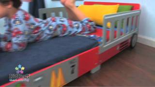Kidkraft Fire Truck Toddler Bed At Boohoobaby!