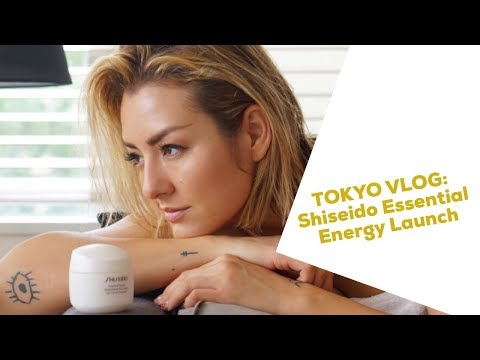 VLOGMAS Day 6: TOKYO WITH SHISEIDO- ESSENTIAL ENERGY LAUNCH