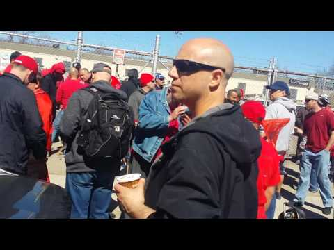 A quick walk of the line... CWA.. Jerome Avenue rally
