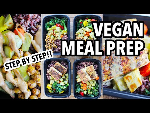 EASY CHEAP VEGAN MEAL PREP (Whole Foods Plant Based & Gluten Free) // The Game Changers Recipes