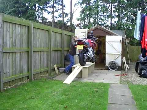 Bike Bench Flat Pack 2