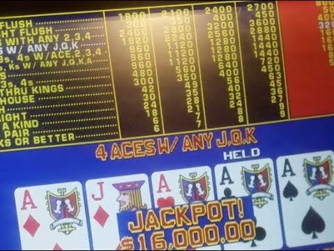 Atlantis video poker