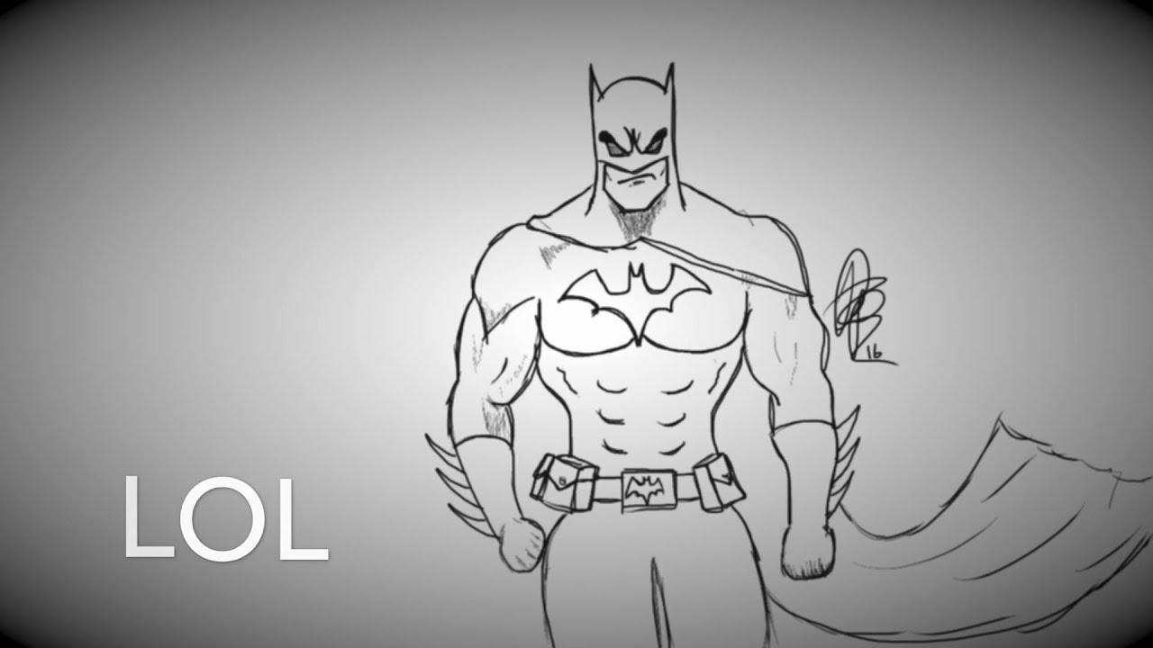 Batman Doodle Youtube