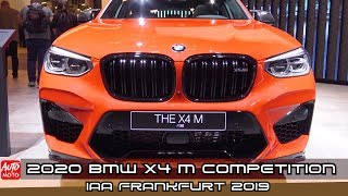 2020 BMW X4 M Competition - Exterior And Interior - Debut At Frankfurt Motor Show 2019