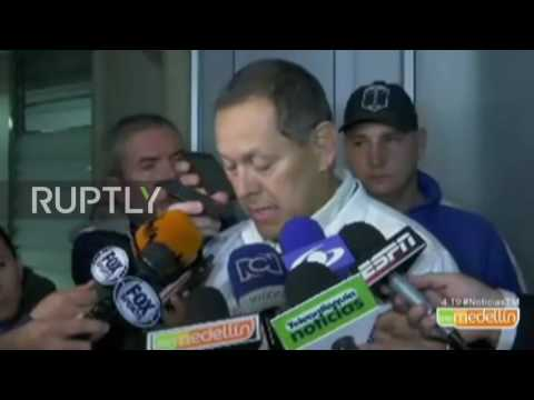 Colombia: Injured arrive at La Ceja hospital after 76 killed in plane crash