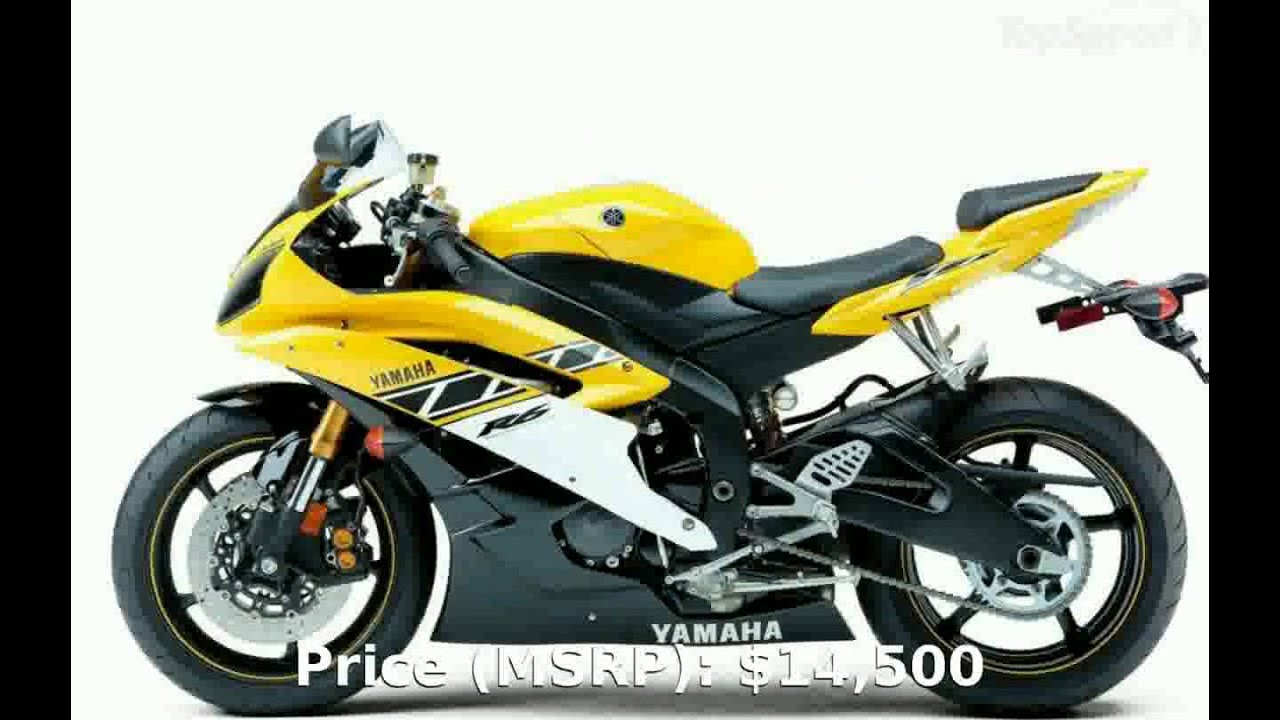 2006 Yamaha YZF R6 - Specification Features - YouTube