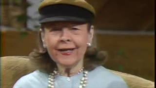 Ruth Gordon: I interviewed Ruth three years before she died. My favorite because of her spunk!