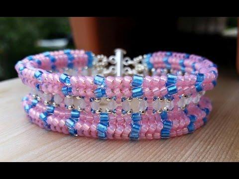 (Tutorial) Double Trouble Bracelet DIY (Video 139)