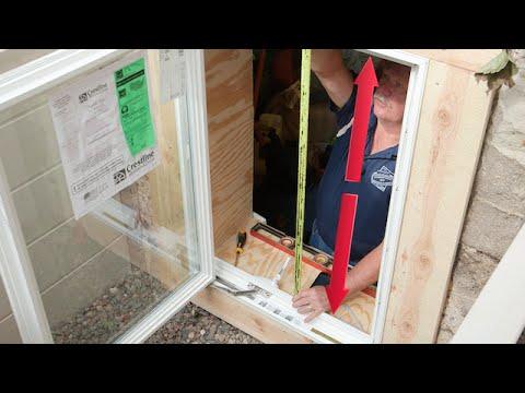 Egress Window Hinges