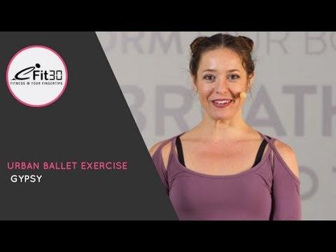 Urban Ballet Exercise - Move123 - Gypsy