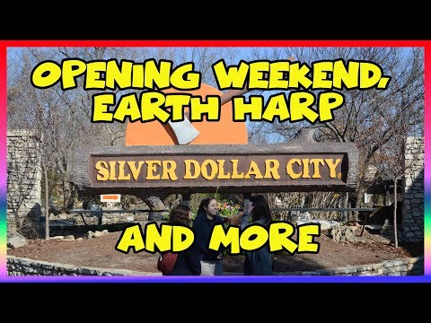 Silver Dollar City Opening Weekend & Earth Harp Collective- Sir Willow's Park Tales ep 47