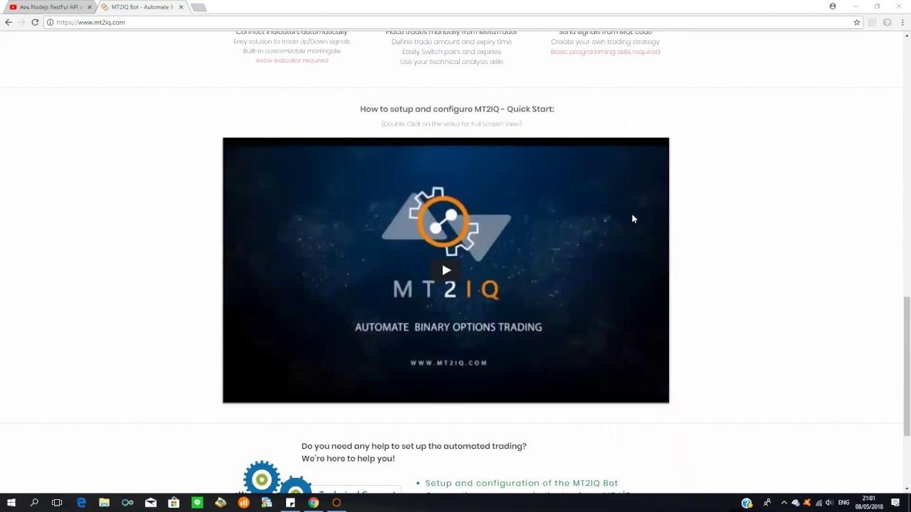 ส ดยอด robot ของป 2018 best robot 2018 mt2iq with promo code