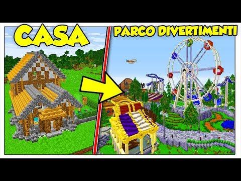 TRASFORMIAMO LA MIA CASA IN GARDALAND! - Minecraft ITA