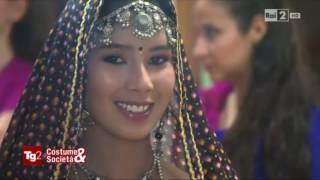 BOLLYWOOD ITALY APSARAS DANCE ON ITALIAN TV