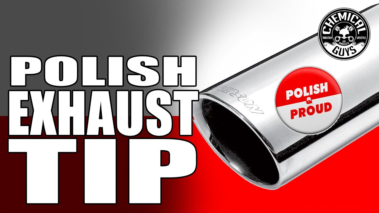 how to clean and polish exhaust tips chemical guys heavy metal polish