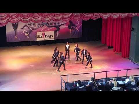 Oaks Middle School Small hip hop 2019