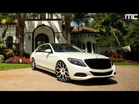 Mc Customs Mercedes Benz S550 183 Forgiato Wheels Youtube
