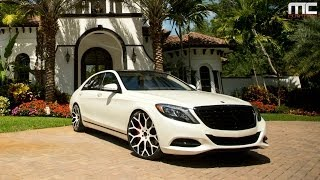 MC Customs | Mercedes-Benz S550 · Forgiato Wheels