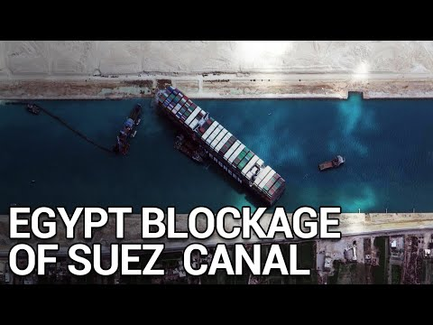 How the EVERGIVEN Blocked in Egypt's Suez canal WRECKED the Global Economy   Short Documentary