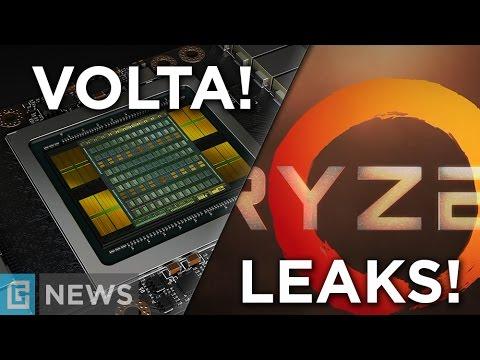 NVIDIA Volta is Here - Tesla V100! + Ryzen LEAK!