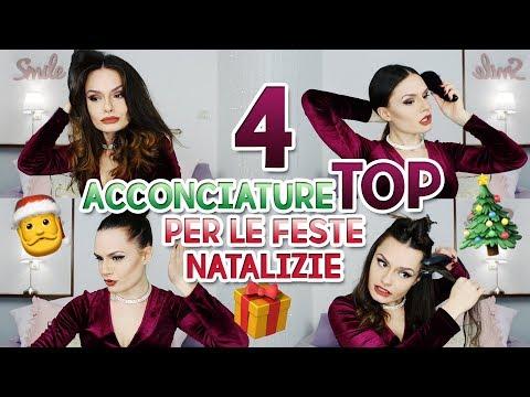 4 ACCONCIATURE TOP PER LE FESTE | MARYNA