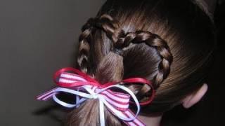 Heart Ponytail Hairstyle thumbnail