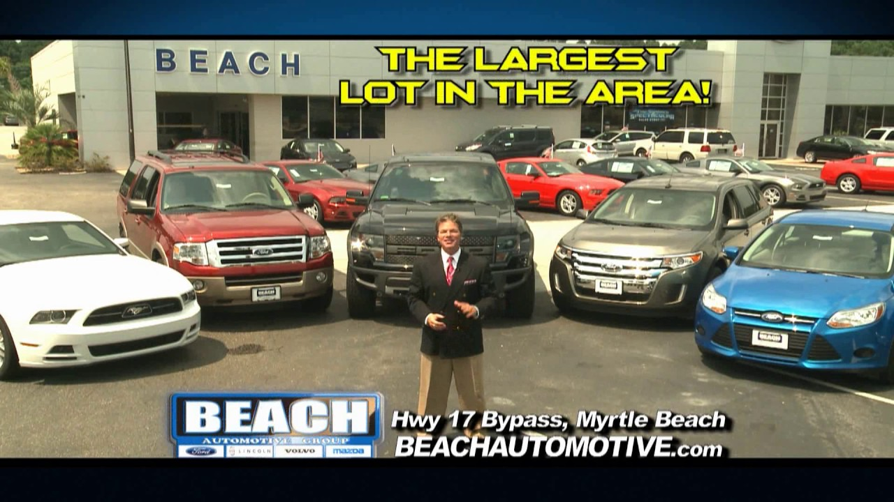 small resolution of myrtle beach ford beach automotive august 2014 commercial beach ford youtube