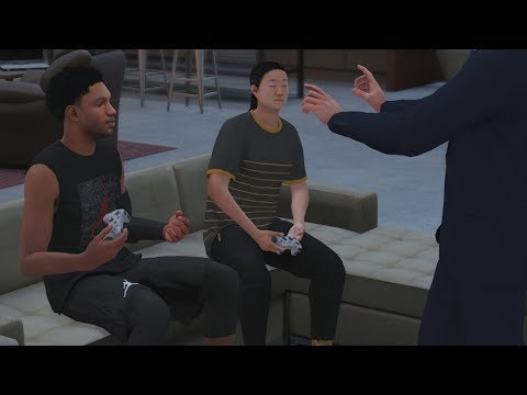 NBA 2K18 My Career - Competing for 1st Commercial! PS4 Pro 4K Gameplay