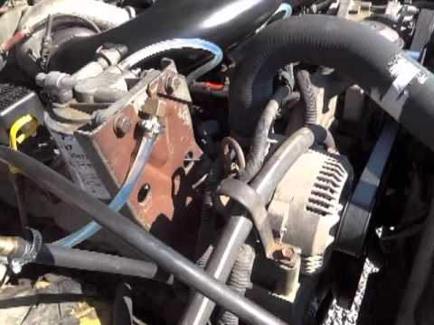 How to check for air in fuel lines on a Ford 69 & 73 IDI