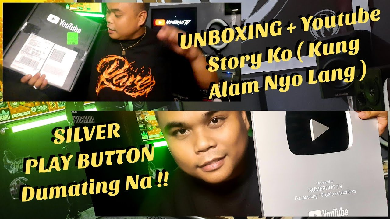 UNBOXING | Silver Play Button | Numerhus TV ( Philippines )