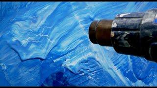 Декоративная штукатурка из водоэмульсионной краски просто и красиво
