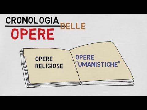 Petrarca, vita e cronologia delle opere in 5 minuti