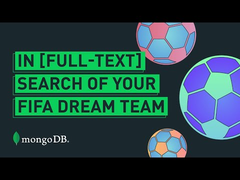 In [Full-Text] Search Of Your FIFA Dream Team | Twitch Live Coding