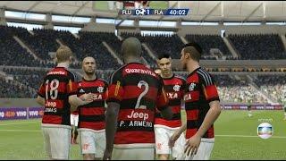 Fluminense x Flamengo - Maracanã - FIFA 15 PC 760p 60fps