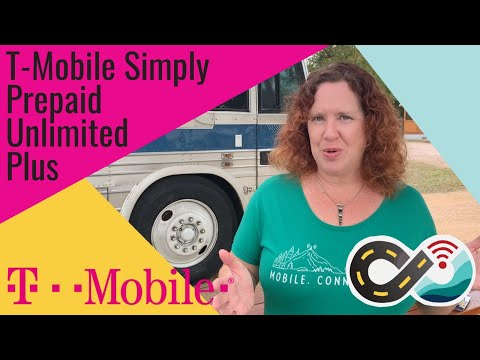 T-Mobile Simply Prepaid New Plan:  Unlimited Plus W/ 10GB Hotspot