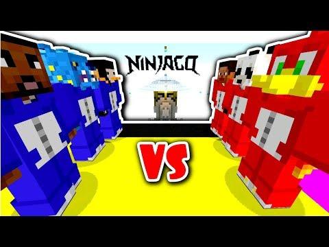 NINJAGO TEAM SKYWARS SPECIAL!! // 3 OF US . . . ONE PANDA!! - Minecraft XBOX