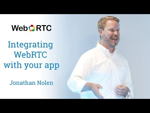 Integrating WebRTC with your app
