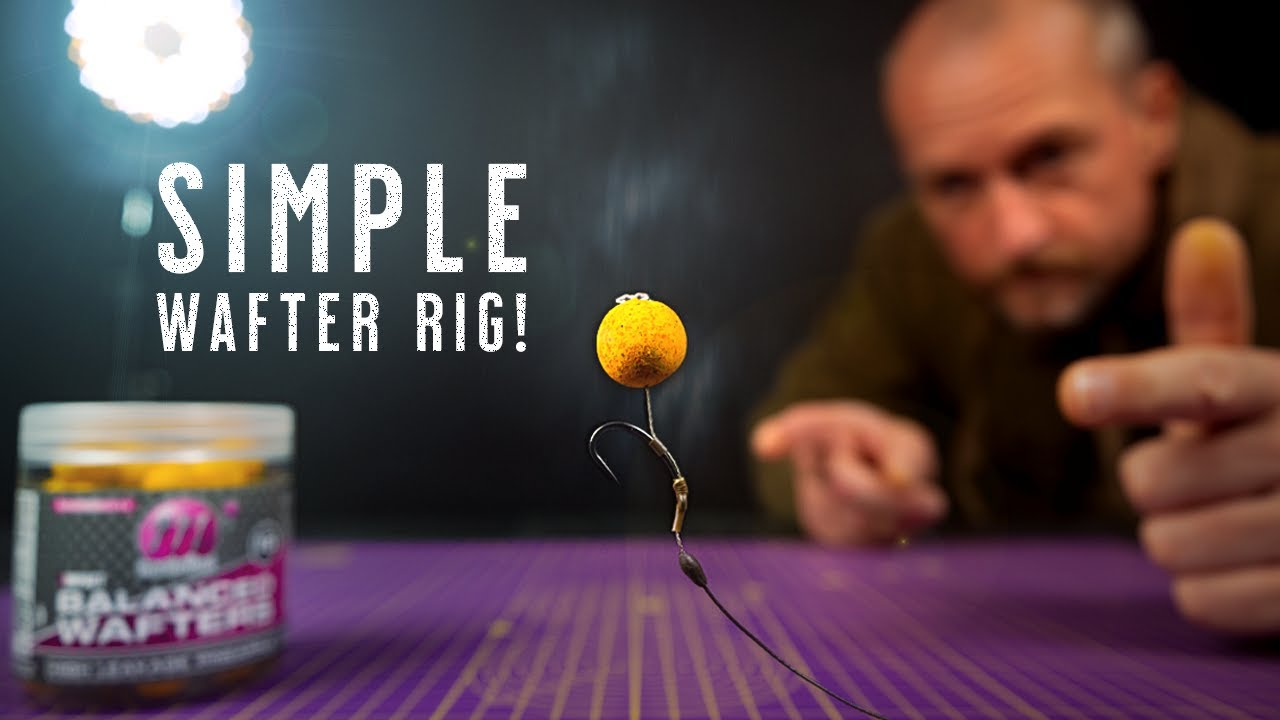 SIMPLE WAFTER RIG For Catching MORE Carp! How To Tie A Wafter Rig - Mainline Baits Carp Fishing TV