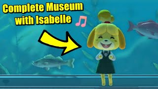 Complete Museum Tour with Isabelle in Animal Crossing New Horizons