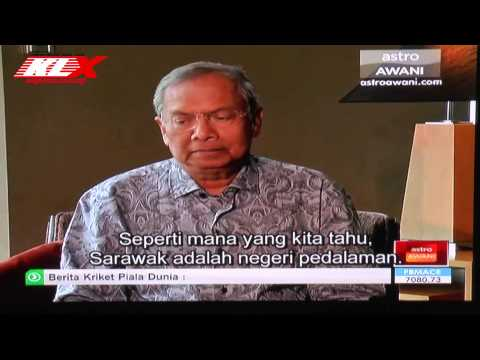 LIVE! EXCLUSIVE INTERVIEW WITH CHIEF MINISTER OF SARAWAK