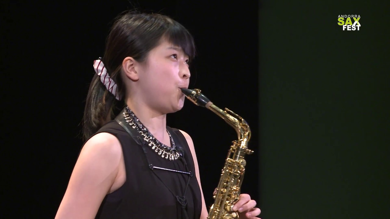 CHIHARU OGURA - FIRST ROUND - IV ANDORRA INTERNATIONAL SAXOPHONE COMPETITION 2017