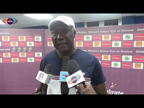 AWCON 2018:  Queens Coach, Bashir Hayford speaks post Mali Defeat