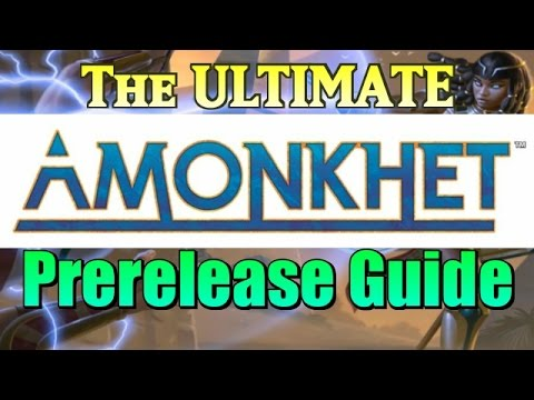 Mtg: The Comprehensive Amonkhet Prerelease/Limited Guide