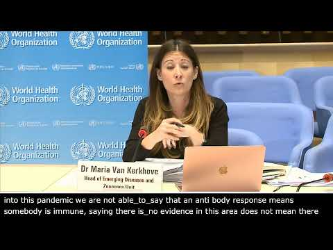Live from WHO Headquarters - COVID-19 daily press briefing 27 April 2020