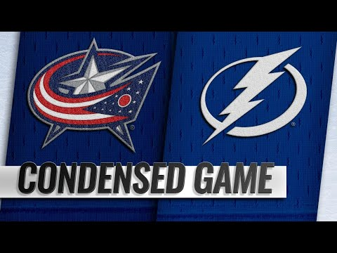 01/08/19 Condensed Game: Blue Jackets @ Lightning