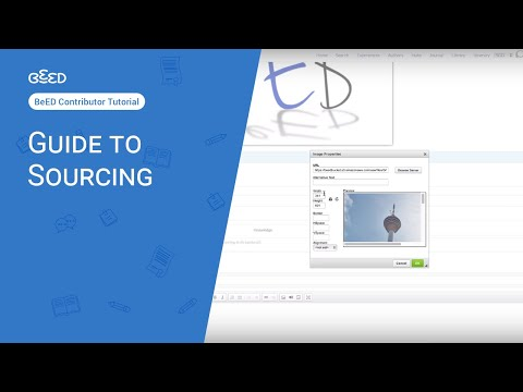 Guide to Sourcing part 1